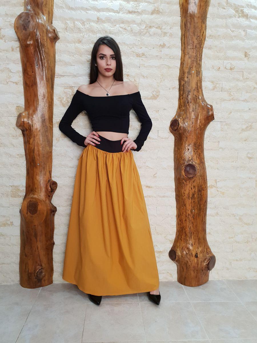 блуза дълга пола